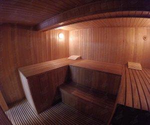 Баня на базе отдыха «Парус»