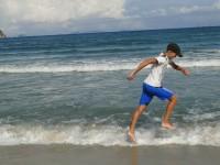 Дети отдыхают на море