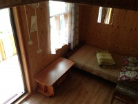 Спальное место на первом этаже