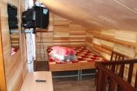 Спальные места летнего домика базы Парус