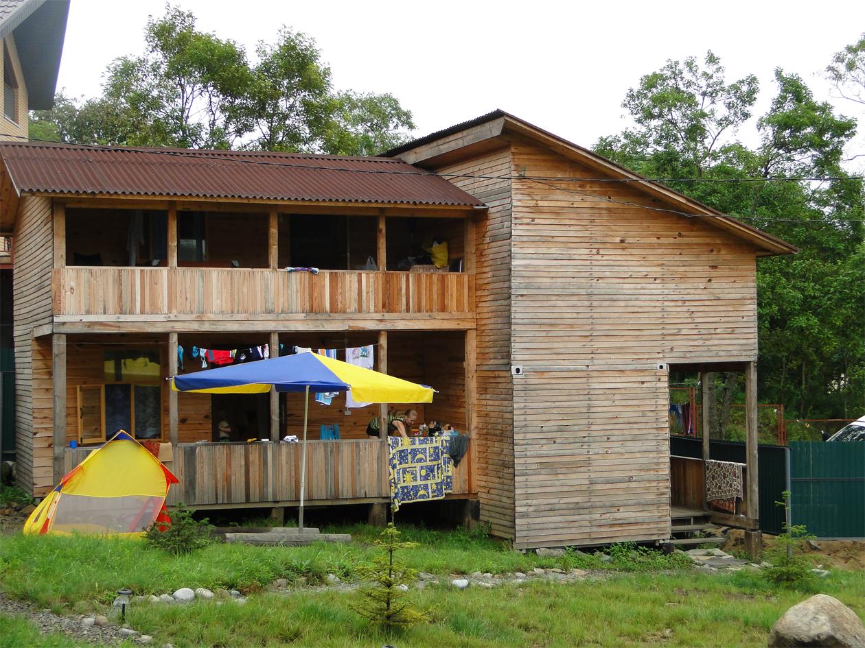 База отдыха Парус - летние домики
